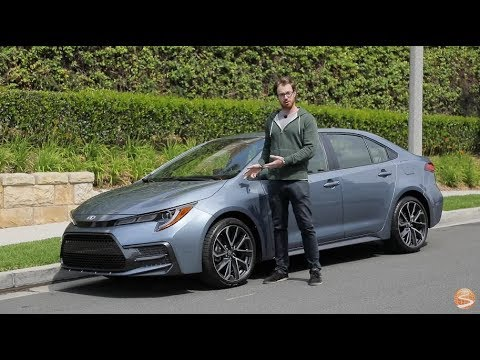 2020 Toyota Corolla XSE Test Drive Video Review
