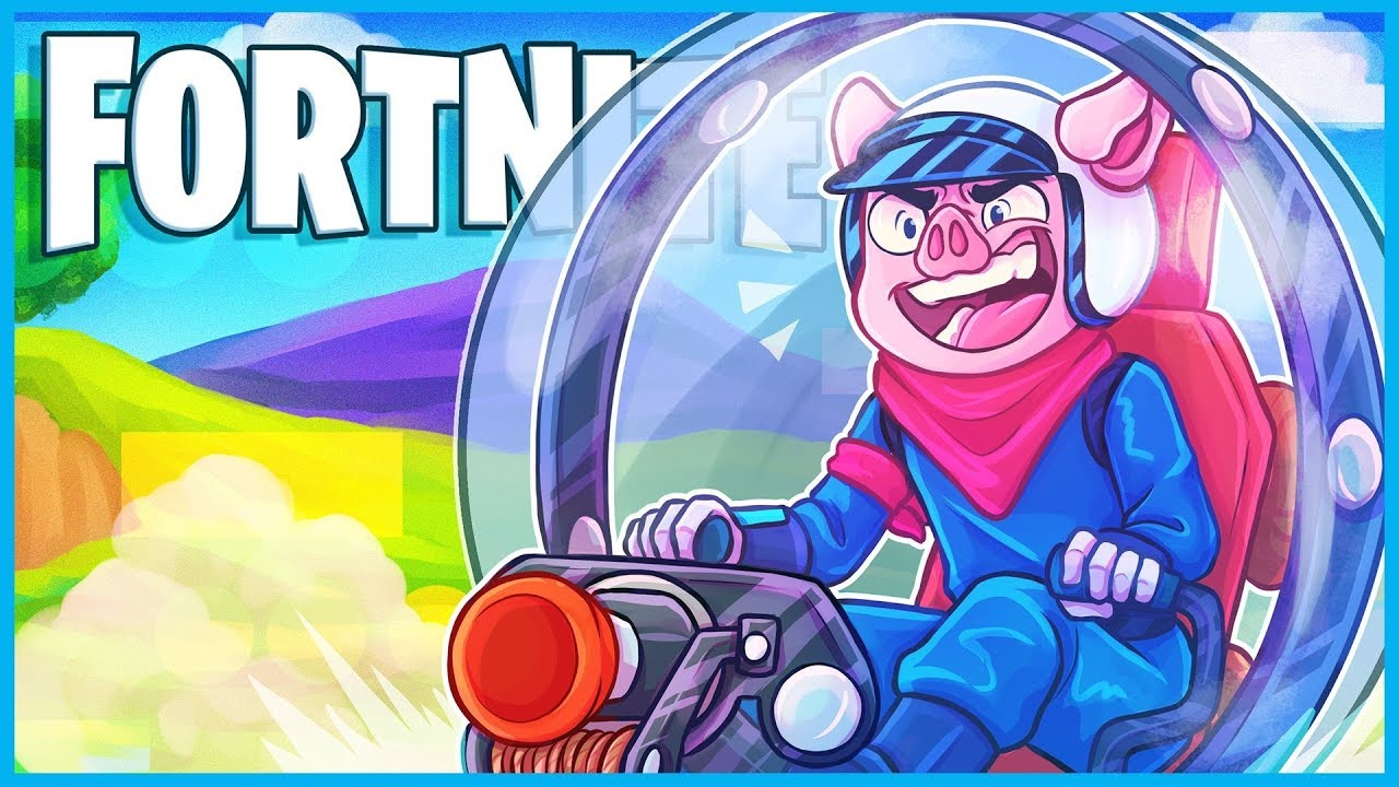 fortnite added hamster balls and they're incredible - YouTube