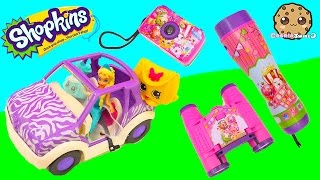 Shopkins Adventure Kit Animal Exploring Playset with Queen Elsa - Cookie Swirl C Videos