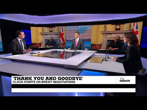 'Thank you and goodbye': Clock starts on Brexit negotiations (part 1)