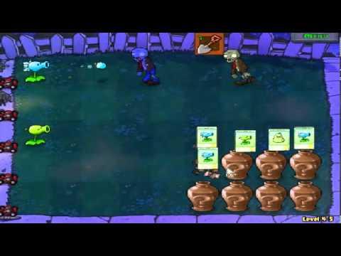 Plants vs zombies (Trồng cây bắn zombie) - Cấp độ 4-5 (Game Việt Hóa)