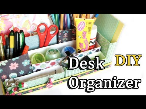 DIY: Desk Organizer | Back to School