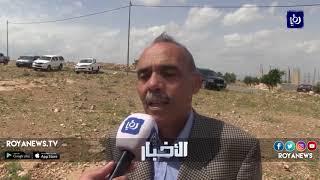 وقفة احتجاجية ضد استملاك أراضٍ في إربد لخط غاز الاحتلال - (21-4-2018)