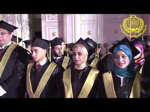 Alexandria 2016 Graduate School of Business Graduation Ceremony