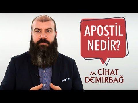 APOSTİL NEDİR?    | Arabulucu Avukat Cihat Demirbağ