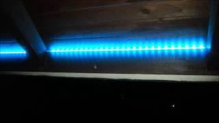 Светодиодное освещение - терраса, беседка площадь(Светодиодное освещение терраса - с использованием - RGB LED полосы ..., 2014-10-10T08:22:05.000Z)