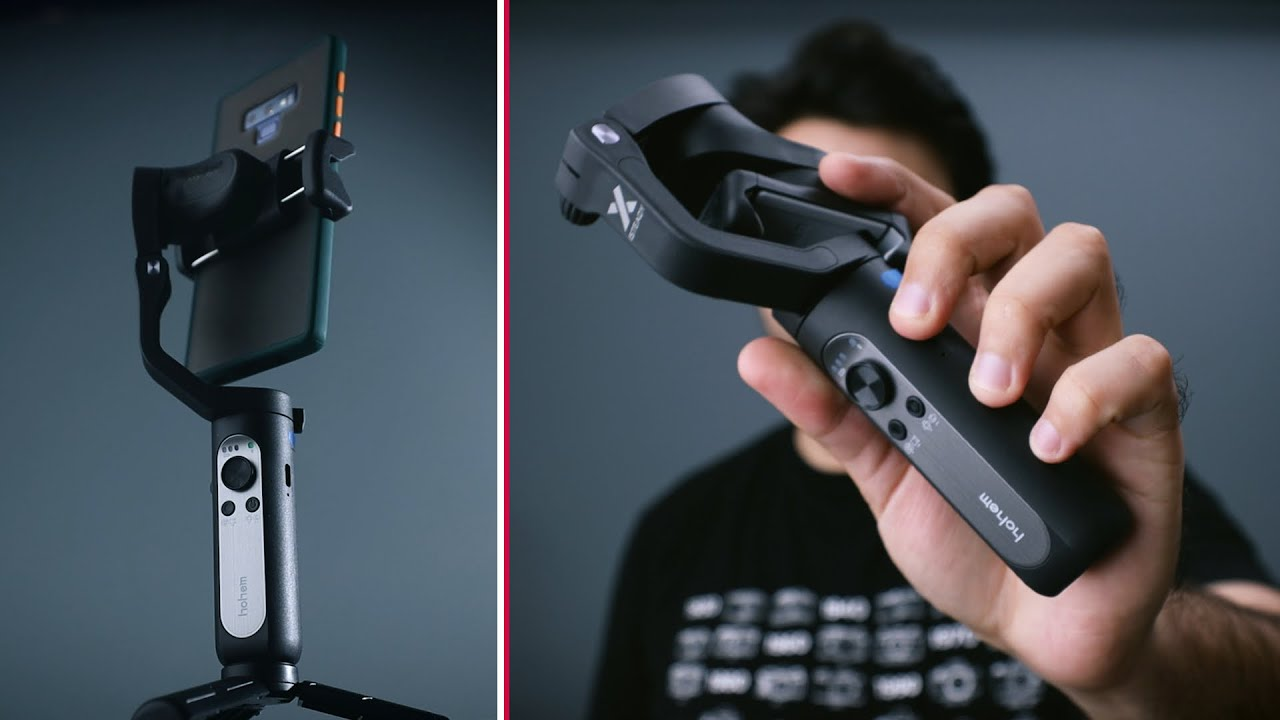 LIGHTEST MOBILE GIMBAL | Hohem iSteady X Review & Giveaway