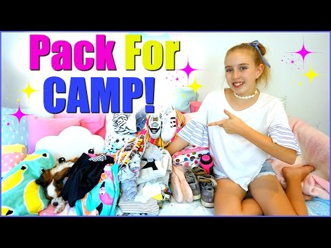 Pack With Me For CAMP I School Camp