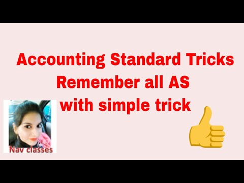 Accounting standards | AS trick | in Hindi | UGC NET Commerce