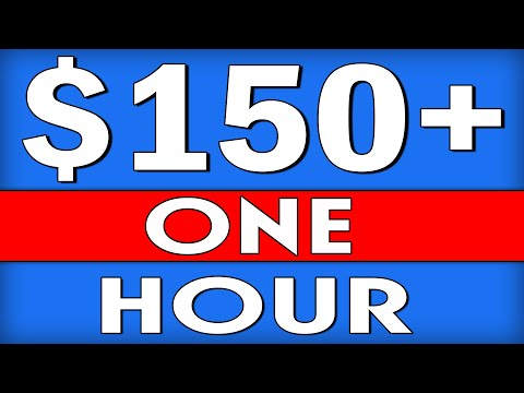 Get PAID $150+ Working 🔥One Hour PER DAY🔥 as A Complete Beginner (MAKE MONEY ONLINE)