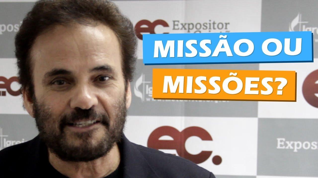 Qual a diferença entre Missão e Missões?