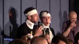 Rap Gaetano e Calogero 2°serata - Supernova Show 013 (Parte 25)
