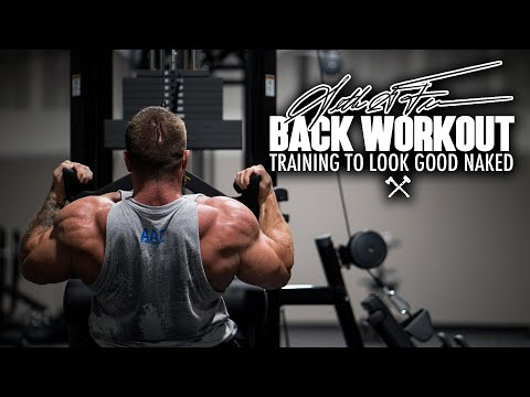 Seth Feroce | Back Workout Training To Look Good Naked