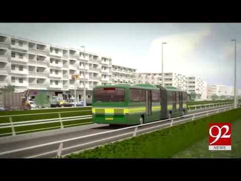 Green line bus becomes the most expensive project of Karachi 11-03-2017 - 92NewsHDPlus