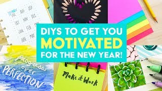 Top 5 DIYs to Get You Motivated for the New Year! | Sea Lemon thumbnail