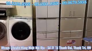 🇻🇳 Htcom hướng dẫn sử dụng tủ lạnh Toshiba GR-432FY 6 cánh vân kim loại giá rẻ - 0922295555