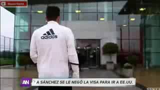 Alexis Sánchez Se le Negó Visa Para ir a Estados Unidos