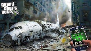 gta 5: Разбился самолет в центре города - спасаем выживших
