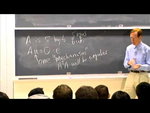Lec 15 | MIT 18.085 Computational Science and Engineering I, Fall 2008