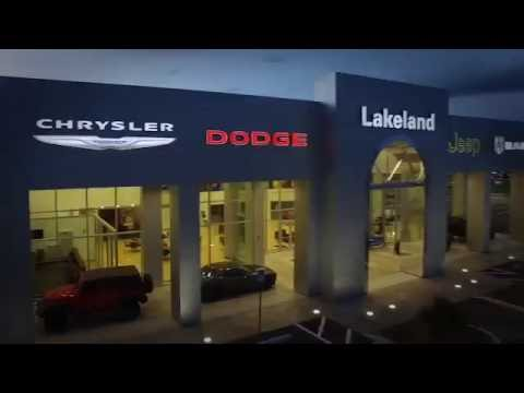New Lakeland Chrysler Dodge Jeep Ram 1st TV Commercial Using My Drone Video