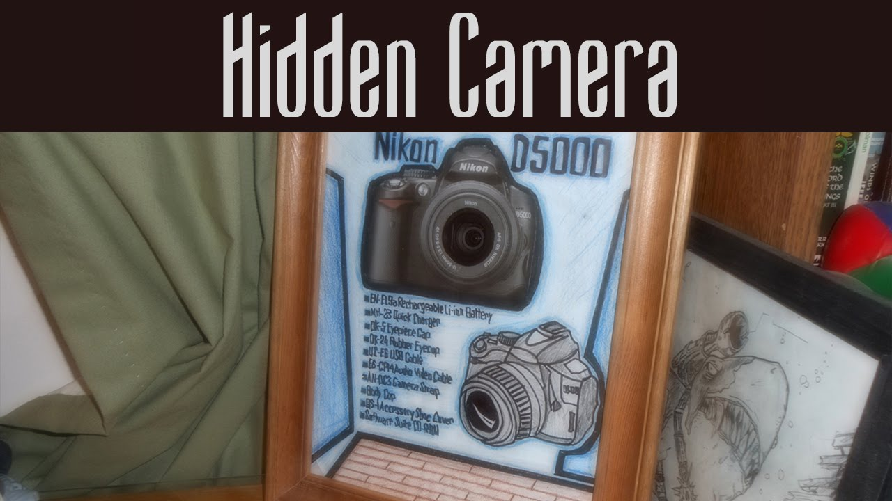 Picture Frame Hidden Camera Youtube