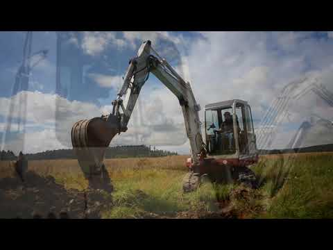 Takeuchi TB145 + IDig Touch 2D