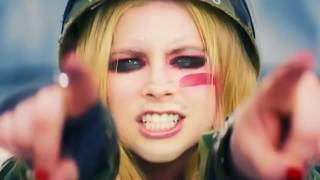 all Avril Lavigne music videos but it's just the song titles