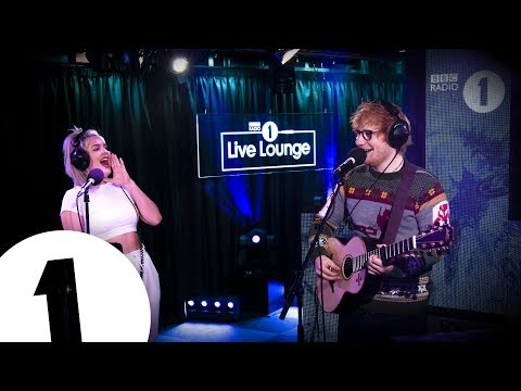 Ed Sheeran & Anne-Marie - Fairytale Of New York in the Live Lounge