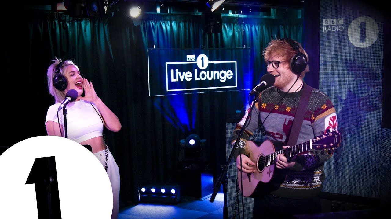 Ed Sheeran   Anne Marie   Fairytale Of New York in the Live Lounge     Ed Sheeran   Anne Marie   Fairytale Of New York in the Live Lounge