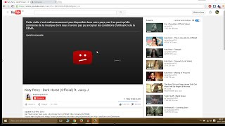 How to Unlock a Blocked Youtube Video with Prox Flow Extension - 2015