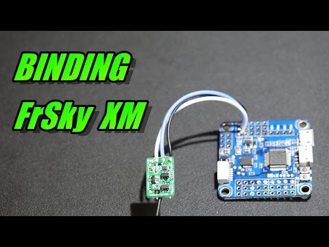 How To Bind FrSky XM & XM Plus Receiver