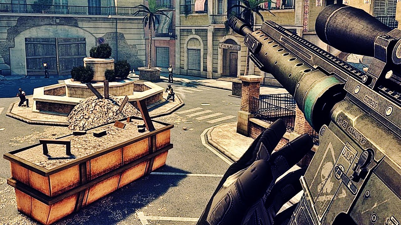 MODERN COMBAT 5: BLACKOUT - QUEREM MULTIPLAYER?