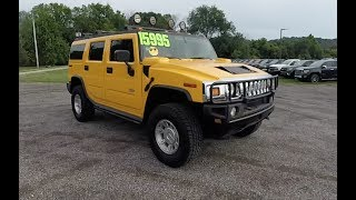 2003 HUMMER H2 SUV 4X4|Walk-Around Video|In-Depth Review
