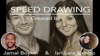 Speed Drawing Featuring Scott Nichols and Amy Wagner