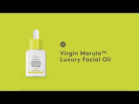 Drunk Elephant Virgin Marula Luxury Facial Oil Introduction