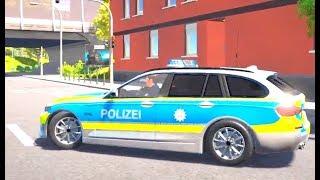 Kinder Polizei Spiel Auto Spiel Polizei Cartoon