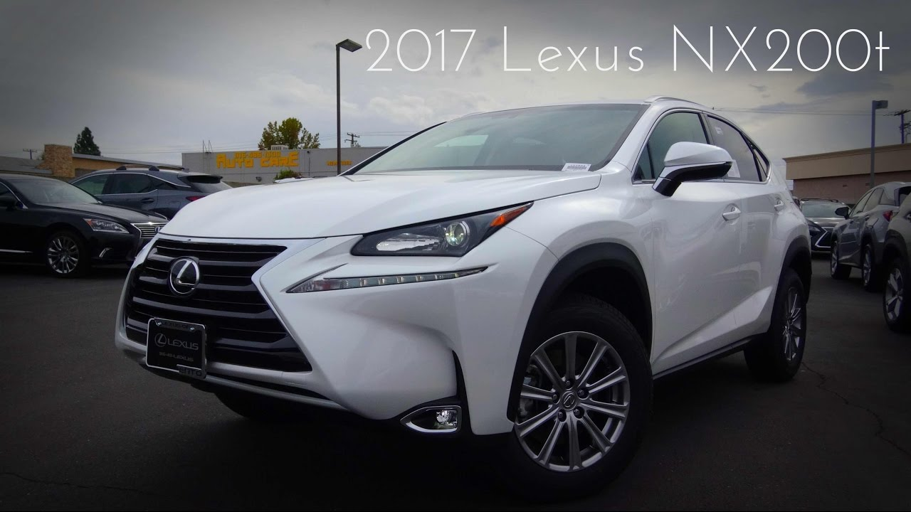 2017 Lexus Nx200t Turbo Charged 4