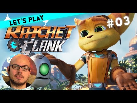[3/4] Let's Play Ratchet & Clank mit Gregor   Heli-Pack   14.03.2016
