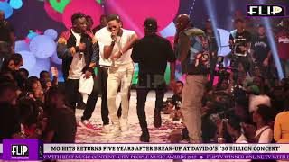 MOHITS RETURNS FIVE YEARS AFTER BREAK UP AT DAVIDOS  30 BILLION CONCERT39