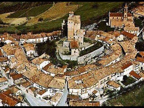 Castello di SERRALUNGA D'ALBA (Cuneo Langhe Piemonte) esterni e interni - videomix