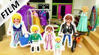 Playmobil Film Deutsch - FAMILIE SCHNÖSELS UMZUG IN LUXUSVILLA! DAS FAMILIENCHAOS! Familie Vogel