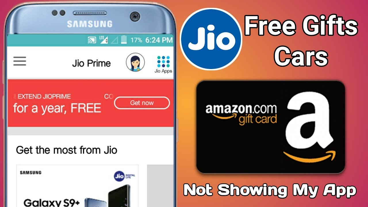 Activate Jio Prime And Amazon Free Gift Card Youtube