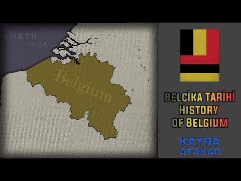 History of Belgium---Belçika Tarihi