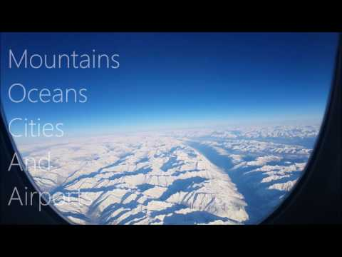 Mountains, Oceans, Cities And Airports : YYZ-YVR