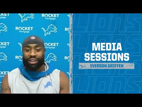 Detroit Lions Media Availability: Nov. 5, 2020 | Everson Griffen