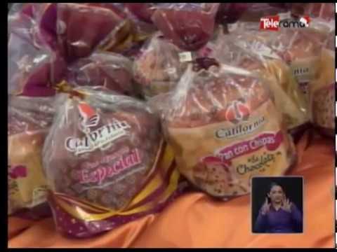Panadería y Pastelería California vive la navidad con su Pan de Pascua