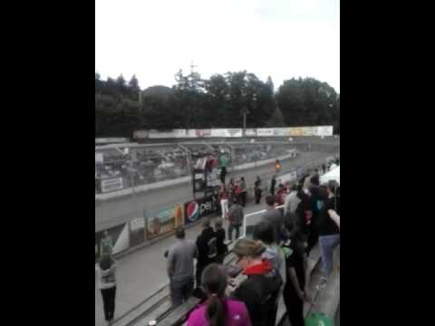 Ed Shaak's memorial lap Deming Speedway May 20, 2016