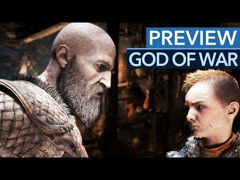 God of War 2018 - Preview für PS4: neues Kampfsystem, mehr Gefühle & neue Upgrades