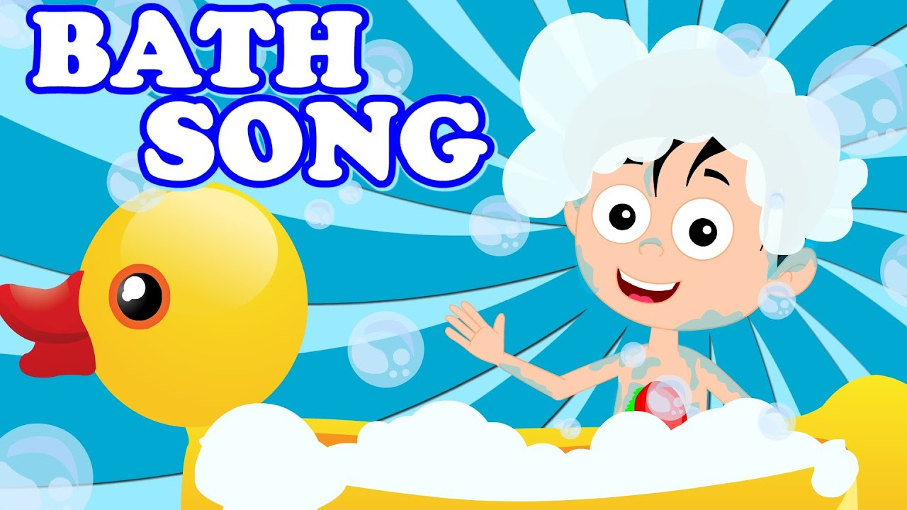 Bath Song Original Song From Kids Tv Nursery Rhymes