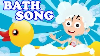 Bath Song | Original Song From Kids Tv | Nursery Rhymes For Kids And Baby